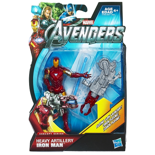 the avengers hasbro IRON MAN the movie