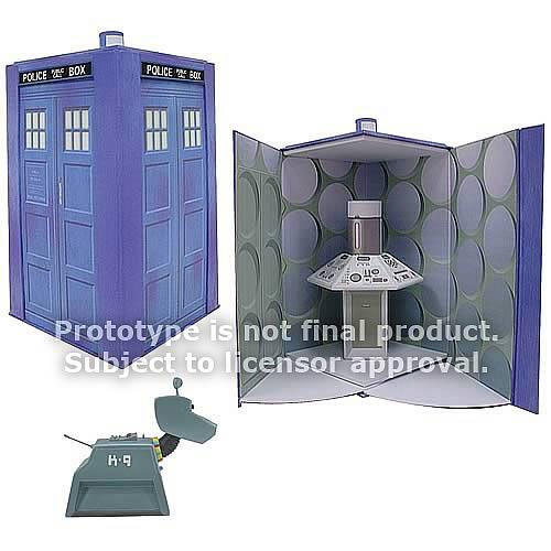Du retro vintage Docteur Who