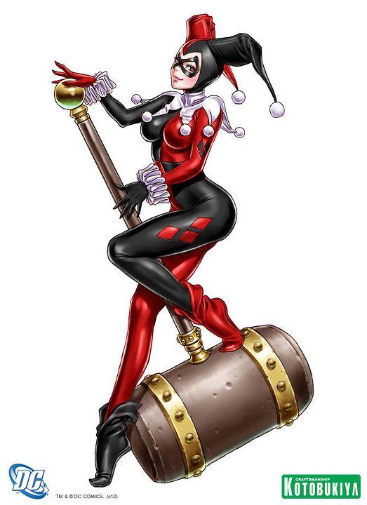 Bishoujo Illustrations Harley Quinn by Shunya Yamashita