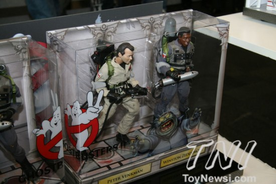 Ghostbusters Mattel New york toy fair 2012