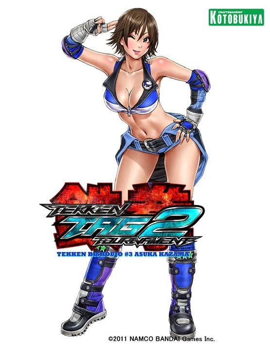 Tekken Tag Tournament 2 ~ Asuka Kazama by Shunya Yamashita bishoujo
