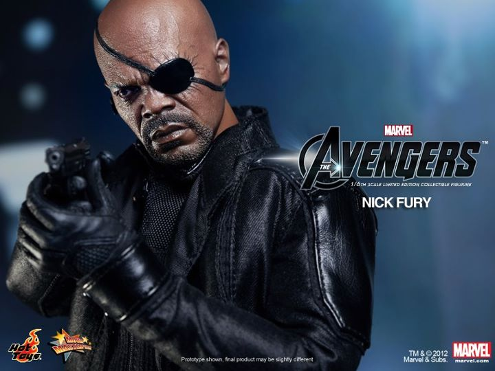 The Avengers Nick Fury Limited Edition Collectible Figurine hot toy japan