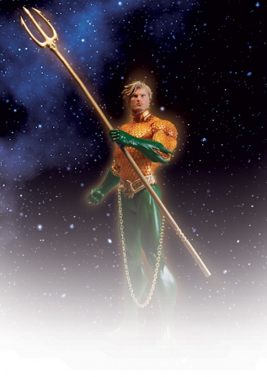 The New 52 Justice League Aquaman DC direct