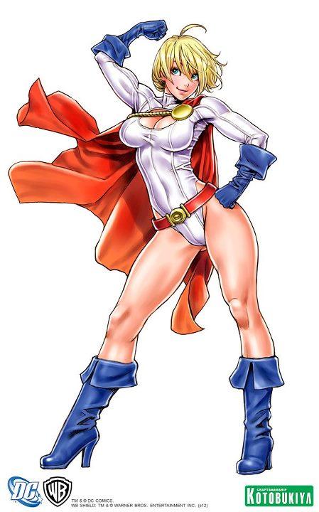 Bishoujo Illustrations Power Girl by Shunya Yamashita DC