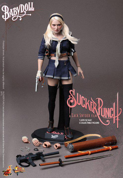 SUCKER PUNCH - BabyDoll hot toys