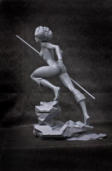 ThunderCats Cheetara 14 Statue