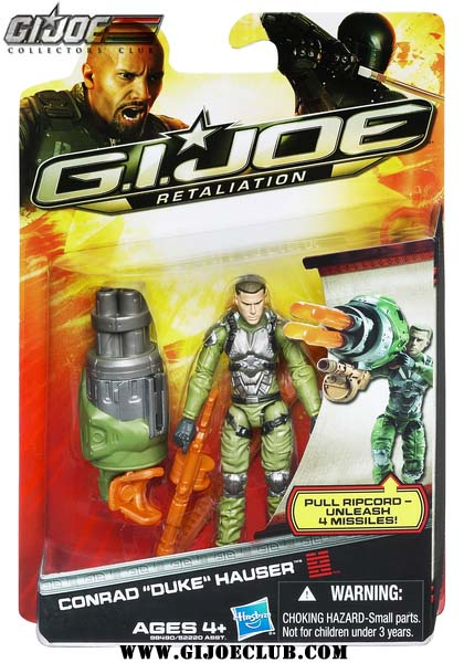 gijoe retaliation carded duke figure HASBRO
