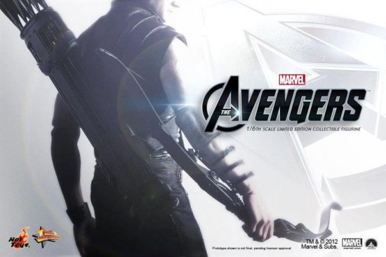 the avengers hawkeye hot toy