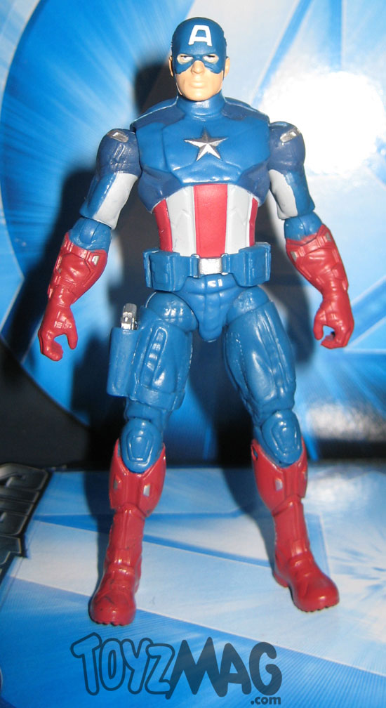 CAPTAIN AMERICA THE AVENGERS HASBRO 10cm 4inch ToyzMag