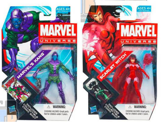 Hasbro Marvel Universe Wave 2 et 3 2012 packaging