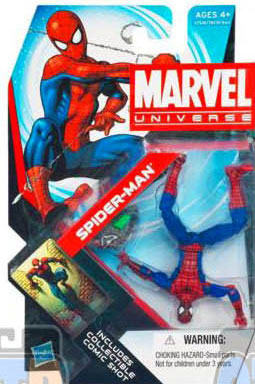 Spider-Man comic 4inch MArvel Universe variante