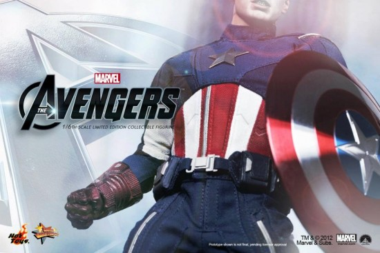 Hot Toys Avengers Movie Captain America