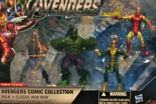 Marvel univers pack avengers