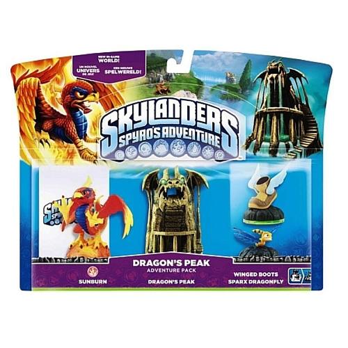 Pack Dragons' Peak Skylanders