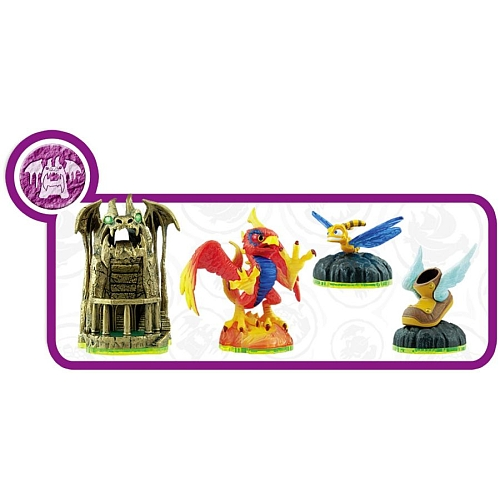 Pack Dragons' Peak skylander spyro's adventure
