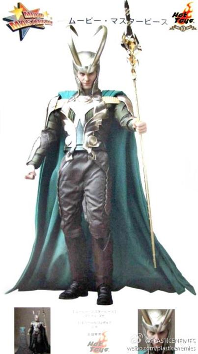 hot toys The Avengers LOKI