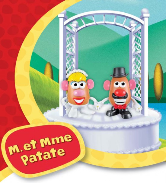 M. et Mme PATATE 2012 Hasbro