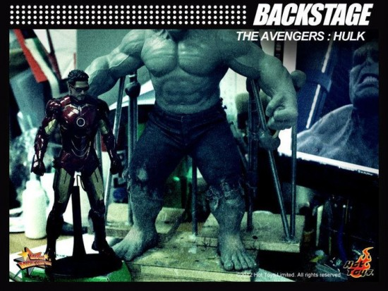 HOT TOYS HULK THE AVENGERS