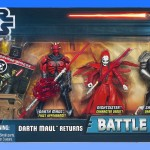 Star Wars Movie Heroes : Battle pack Darth Maul's Return en HD