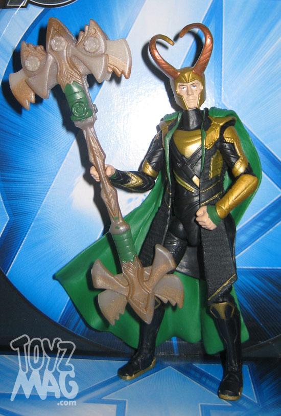 LOKI The avengers Hasbro 2012