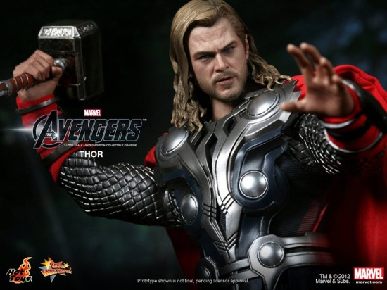 THOR The Avengers Hot Toys