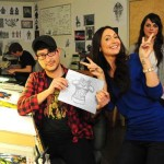 jessica-chobot-lives-out-every-nerds-fantasy-at-gentle-giant-studios3