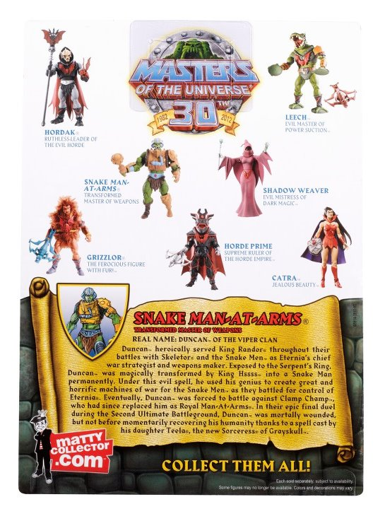 motuc snake man at marm 2012 MATTEL