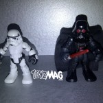 Playskool Star Wars Jedi Force : Darth Vader & Stormtrooper