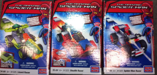 the amazing spider-man megabloks