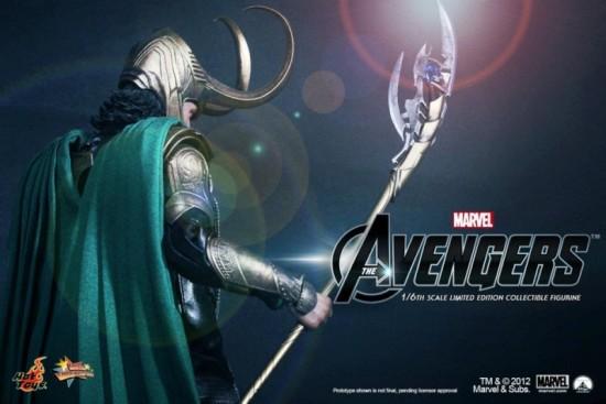 the avengers hot toys Loki