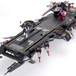 Helicarrier Avengers exclusivité Hasbro SDCC 2012