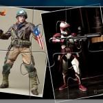 SDCC 2012 Sideshow & Hot Toys : WW2 Captain America et Commander Fox