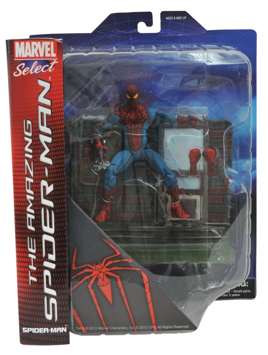 ASM amazing spider-man marvel select