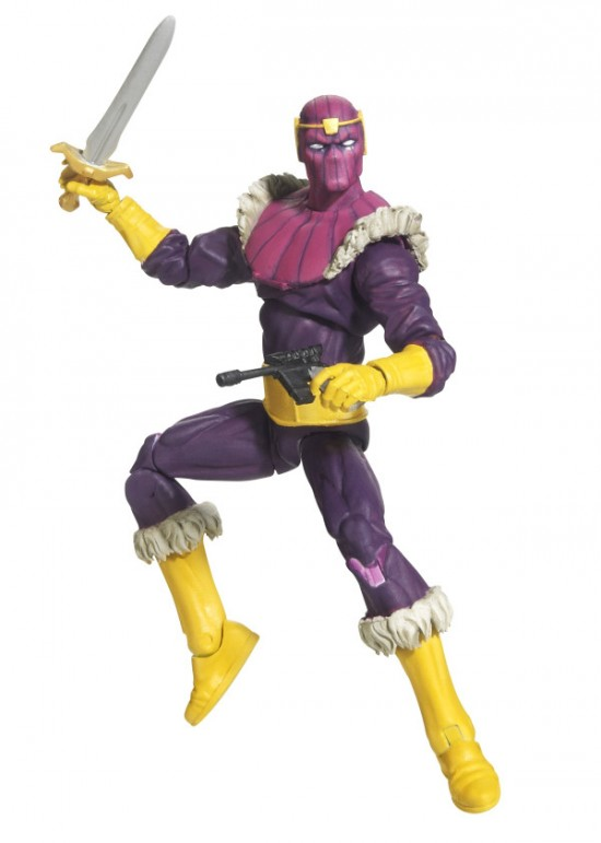 BARON ZEMO Masters of Evil Special Edition 3-pack HASBRO SDCC 2012
