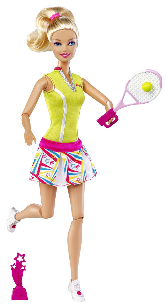 Barbie sport mattel 2012