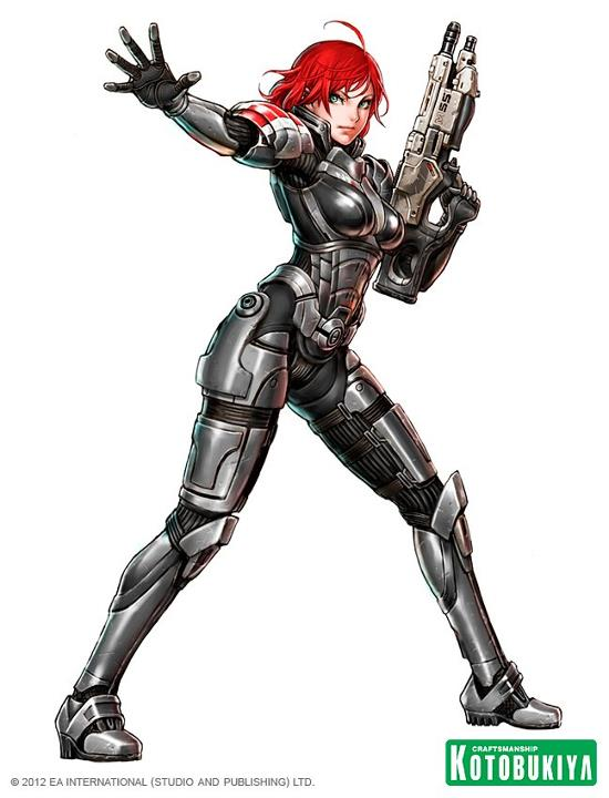 Commander Shepard mass effect bishoujo kotobukiya