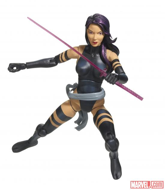 HAsbro SDCC MARVEL LEGENDS X-FORCE Psylocke