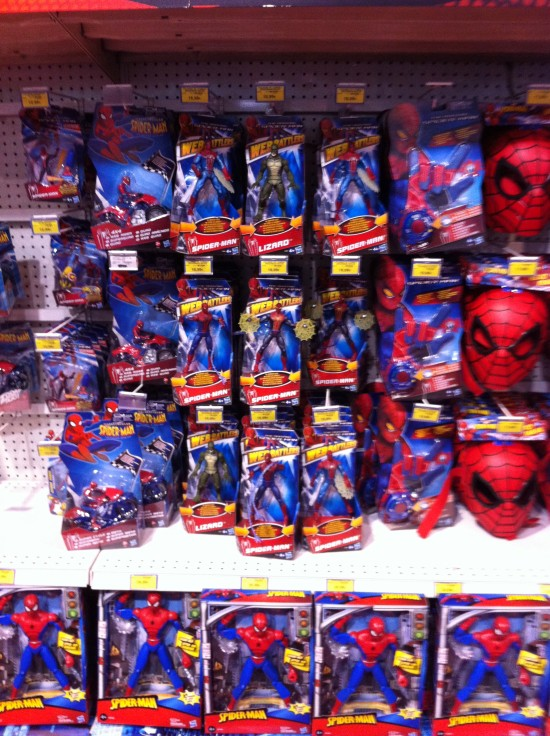 The Amazing Spider-Man Hasbro TOY R US 2012