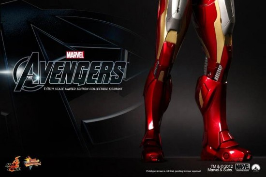 The Avengers - Mark VII IRONMAN HOT TOYS