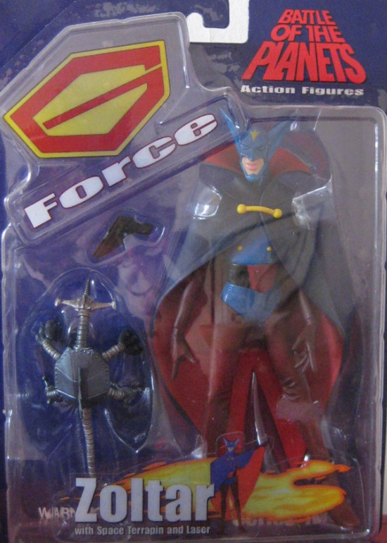 gatchaman Battle Of Planets Diamond Select Toys 2003 Zoltar