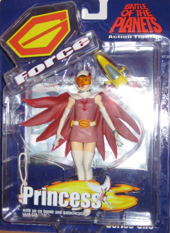 gatchaman Battle Of Planets Diamond Select Toys 2003 Princess