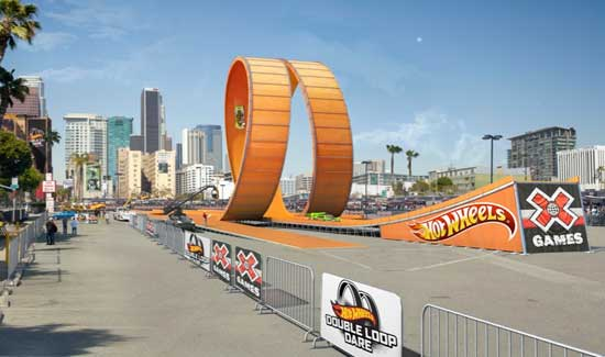 hot wheels Xgames 2012