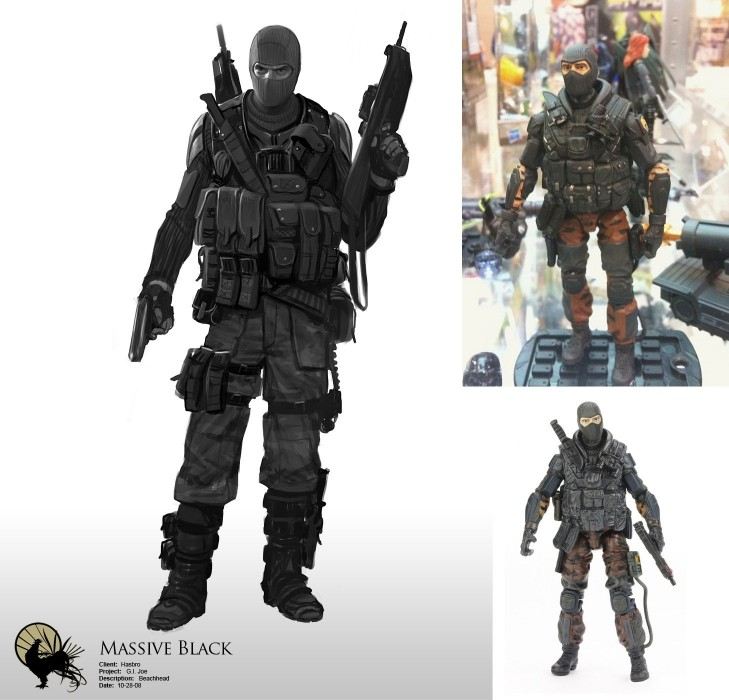 Black Gi Joe 74