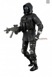 neca vector resident evil operation raccoon city figurine