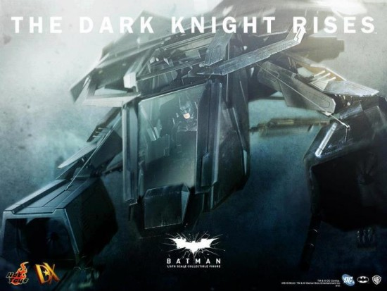 BAT the dark knight rises hot toys batwing