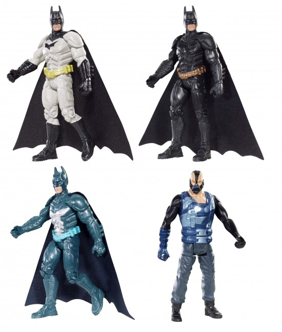 Batman figurines 10CM  The Dark Knight Rises - Mattel - 2012