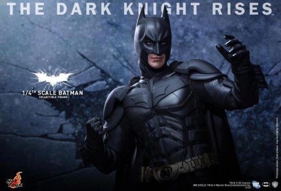 Batman echelle 1-4 Hot toys The dark knight rises