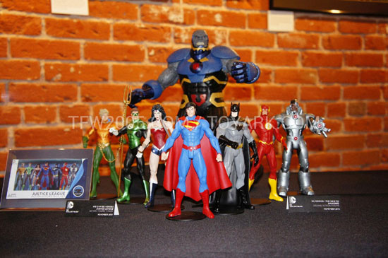 DC collectibles sdcc2012 Justice leagues new52