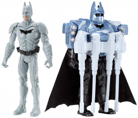 Figurines Transformables Quick Tek MATTEL The Dark Knight Rises