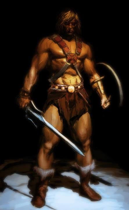 Gerald Parel The masters of the universe -  He-Man Musclor